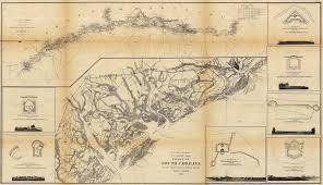 Coast of South Carolina from Charleston to Hilton Head   Civil War Maps and Drawings eBay
