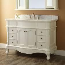 Sedwick Creamy White Vanity Bathroom - 48 bathroom vanity antique white