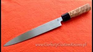 Japanese Style Kitchen Knives Making Japanese Style Kitchen Knife Youtube