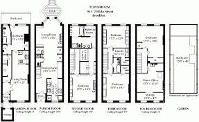 brownstone house plans in bright side of brownstone floor plans