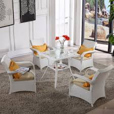 White Resin Wicker Outdoor Patio Furniture Set - home goods patio furniture home goods patio furniture suppliers