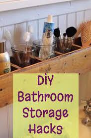 Bathroom Shelving Ideas by Diy Bathroom Storage And Organization Hacks Involvery Community Blog