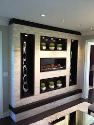 Contemporary Wall Units With Book Storage Family Room Contemporary - Family room wall units