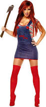 Scary Halloween Costume Girls 25 Chucky Costume Ideas Chucky Bride Costume
