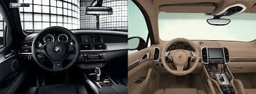 Porsche Cayenne Inside - bmw x6m vs porsche cayenne turbo the heavy weight german comparo