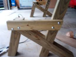 Wooden Bench Plans To Build by Handymanwire Building A Garden Bench