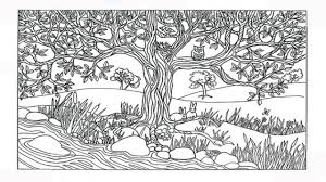 playground scene coloring page contegri com