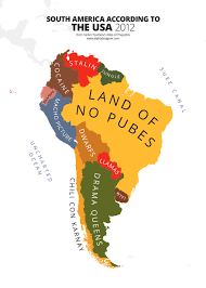 Latin America Political Map by 31 Maps Mocking National Stereotypes Around The World Bored Panda