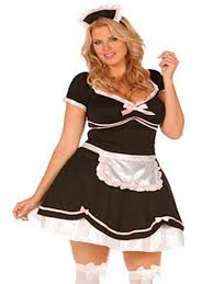 plus size halloween costumes for women french maid chamber maid