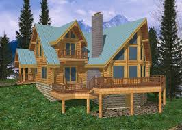 log cabin home plans designs house with open floor plan modern