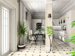 Tiled Kitchen Table by 41 White Kitchen Interior Design U0026 Decor Ideas Pictures