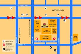 parking at pasadena convention center