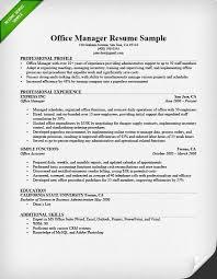 Sample Test Manager Resume by Office Manager Resume Sample U0026 Tips Resume Genius