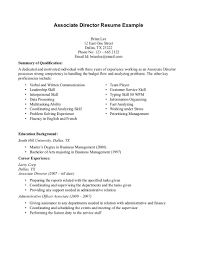 Student Resume Summary Examples by Writing A Cv With Retail Experience