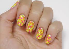 neon dots nail art step by step 30 nail art designs