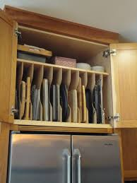 What To Do With The Space Above Your Kitchen Cabinets Custom Partition This Is Placed In The Custom Cherry Cabinet