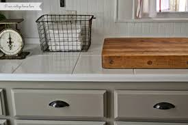 Chalk Paint For Kitchen Cabinets Our Vintage Home Love Kitchen Updates