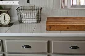 Linen Kitchen Cabinets Our Vintage Home Love Kitchen Updates