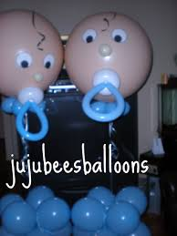 Boy Baby Shower Centerpieces by Baby Shower Decorations For Boy Balloon Sculpture Balloon