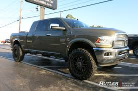 Dodge Ram Black - dodge ram with 20in black rhino tanay wheels exclusively from