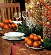 apartments stunning christmas table decoration ideas with gold