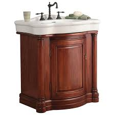 foremost wia3021 wingate bathroom vanity in rich cherry with