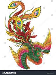 japanese style phoenix stock vector 151443143 shutterstock