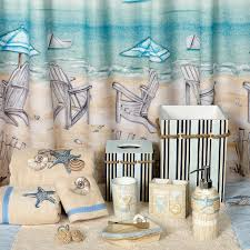 Beach Themed Bathrooms by Seaside Serenity Bath Accessory Collection Coastal Beach Theme