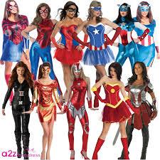 ladies avengers marvel superhero women heroine fancy dress