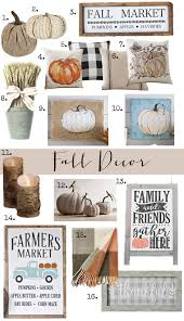 fall decor the perfect items to get your home ready for fall