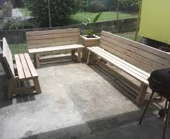 Basic Wood Bench Plans by Outdoor Bench Seating Treenovation