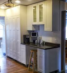 Height Of Kitchen Cabinet by Ceiling Height Kitchen Cabinets Alkamedia Com