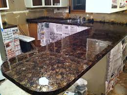 granite countertop kitchen cabinets with inset doors fused glass