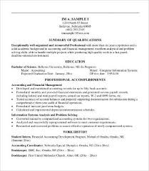 Examples Of Professional Summary For Resume by Professional Resume Examples 8 Free Word Pdf Documents