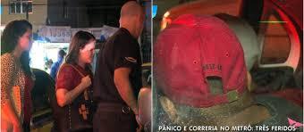Confusão entre menores deixa três passageiros feridos em estação ...