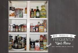 organizing kitchen spice cabinet organization that is easy
