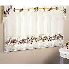 Tuscan Kitchen Curtains Valances by Kitchen Curtain Grapes Decorate The House With Beautiful Curtains