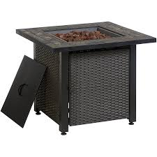 Lowe Outdoor Furniture by Garden Treasures 50 000 Btu Liquid Propane Fire Pit Table Lowe U0027s