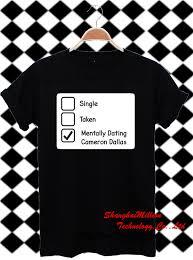 Boys Dating Boys Reviews   Online Shopping Boys Dating Boys     AliExpress com magcon boys mentally dating cameron dallas Cotton t shirt tour Unisex Tee SXZ   DX
