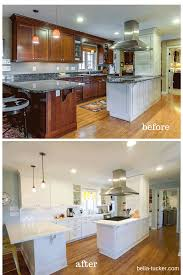 Kitchen Cabinet Colour Painted Cabinets Nashville Tn Before And After Photos