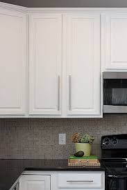 Enamel Kitchen Cabinets by Sherwin Williams