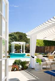 Patio Accents by 5 Summer Patios That Showcase Chic Backyard Design