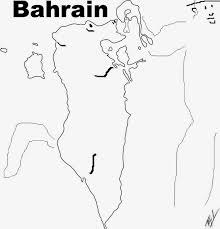 A funny map of Bahrain