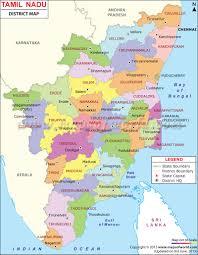 India Map Quiz by Tamilnadu Map Tamilnadu Districts