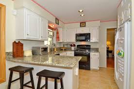gallery of interior outstanding kitchen ideas with black