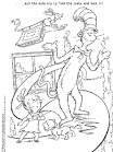 fox in socks coloring pages