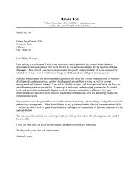 Account Management Cover Letter Sample Resume Cover Letter for     My Document Blog