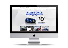 lexus service website lexus 3 day sale event u2014 lisa gercovich design