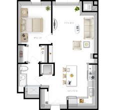 One Room Apartment Floor Plans Floor Plans