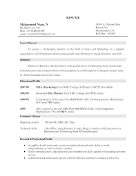Resume Objectives For Sales  resume template objectives for     happytom co